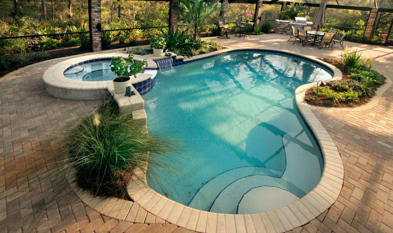 Swimming Pools Are A Worthy Addition In Home Compounds If Not For Relaxing And Exercising Needs Small Backyard Pools Swimming Pool Designs Small Pool Design