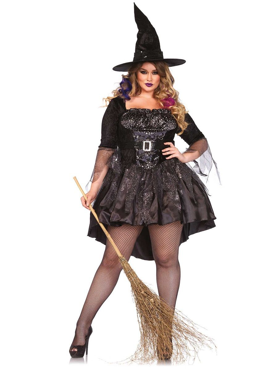 Adult Plus Size Black Magic Mistress Costume - 85475X - Fancy ...