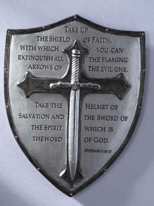 Christian shield love what it says my sweet lord for Warrior bible verse tattoos