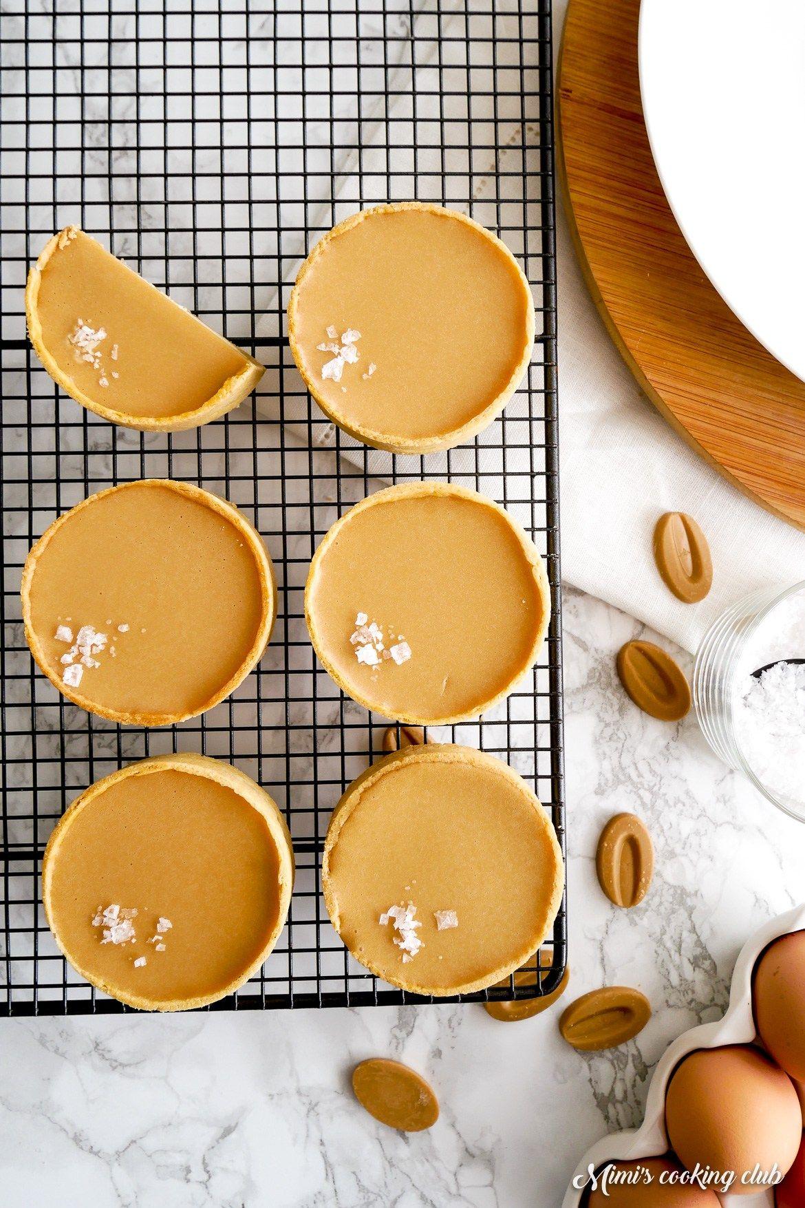 Tartelettes cheesecakes au chocolat Dulcey   Recette ...