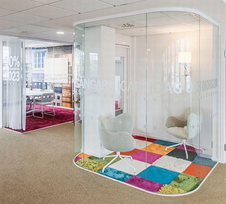 HSB office by pS Arkitektur, Stockholm – Sweden