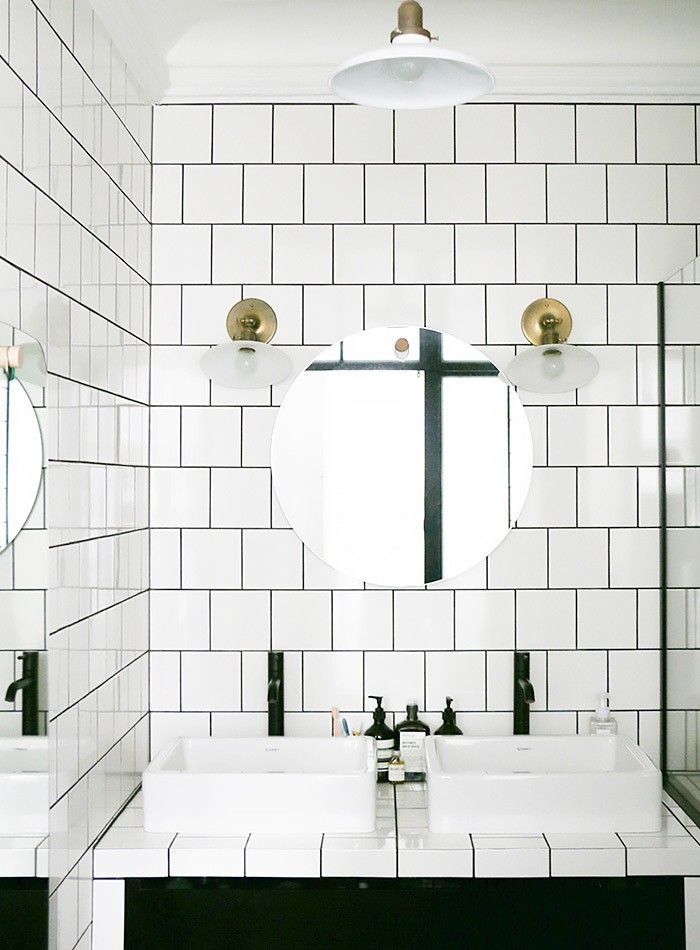 Could This Be The Next Subway Tile White Bathroom Tiles White Square Tiles Trendy Bathroom Tiles