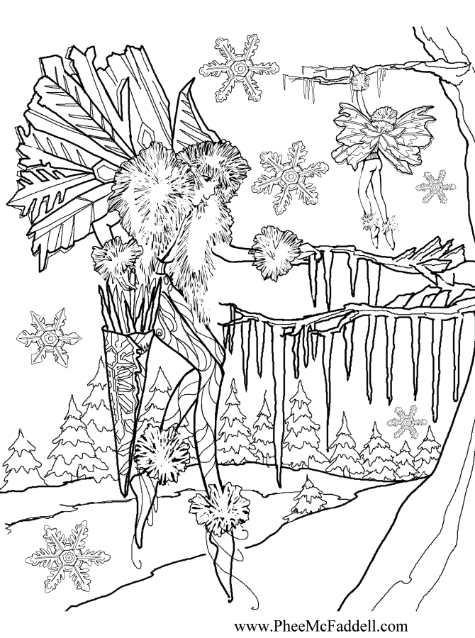 Hanging Icicles www.pheemcfaddell.com | Colouring Pages | Pinterest ...