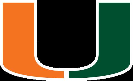 miami hurricanes college ncaa logo color auto car sticker decal emblem