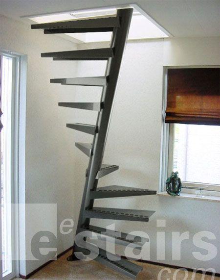 Pin De Ladana Edwards En Space Saving Diseño De Escalera | Space Saver Staircase Plans | Stair Case | Storage | Spiral Staircases | Landing | Staircase Ideas
