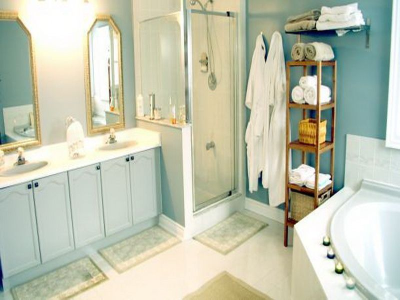 Relaxing Bathroom Paint Colors