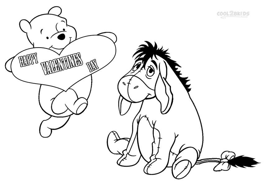 Printable Eeyore Coloring Pages For Kids | Cool2bKids | Disney ...