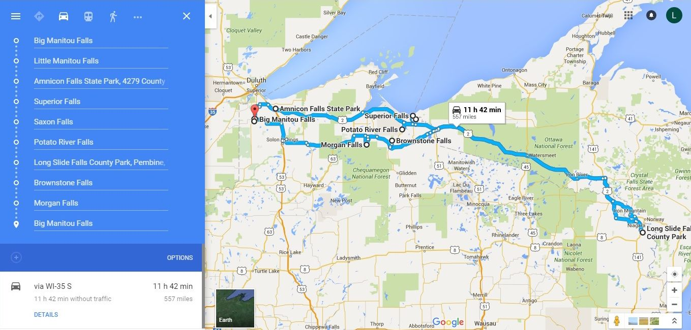 The Ultimate Wisconsin Waterfalls Road Trip Is Right Here – And You ...