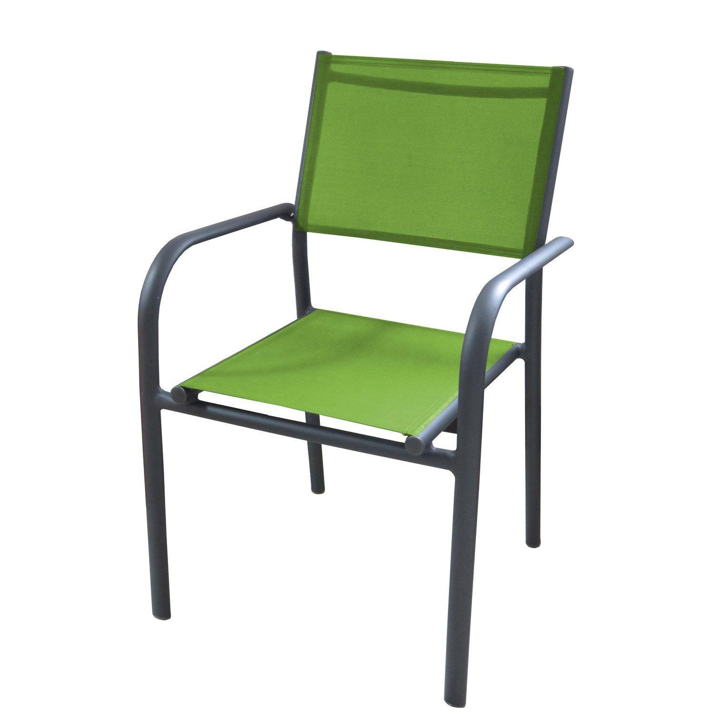 Fauteuil De Jardin En Aluminium Duca Vert Fauteuil Jardin Mobilier De Salon Et Chaises De Camping