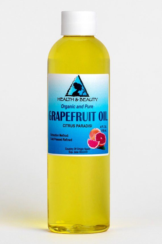 ORGANIC GRAPEFRUIT SEED OIL, COLD PRESSED, 100% PUREBotanical Name: Citrus ParadisiExtraction Method: Cold PressedObtained From: SeedsOrigin: SpainOrganic: Made without pesticides, GMO's, or hexane.Ingredients: Grapefruit Seed Oil, 100% Pure with NO additives or carriers added.Description: Grapefruit Seed Oil is a substance derived from the seeds of grapefruit. Used as a broad-spectrum, non-toxic, antimicrobial product, it is known to be highly effective for fighting infection and promoting heal