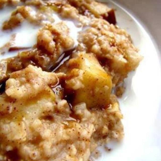 Apple Oatmeal Crock-Pot Breakfast