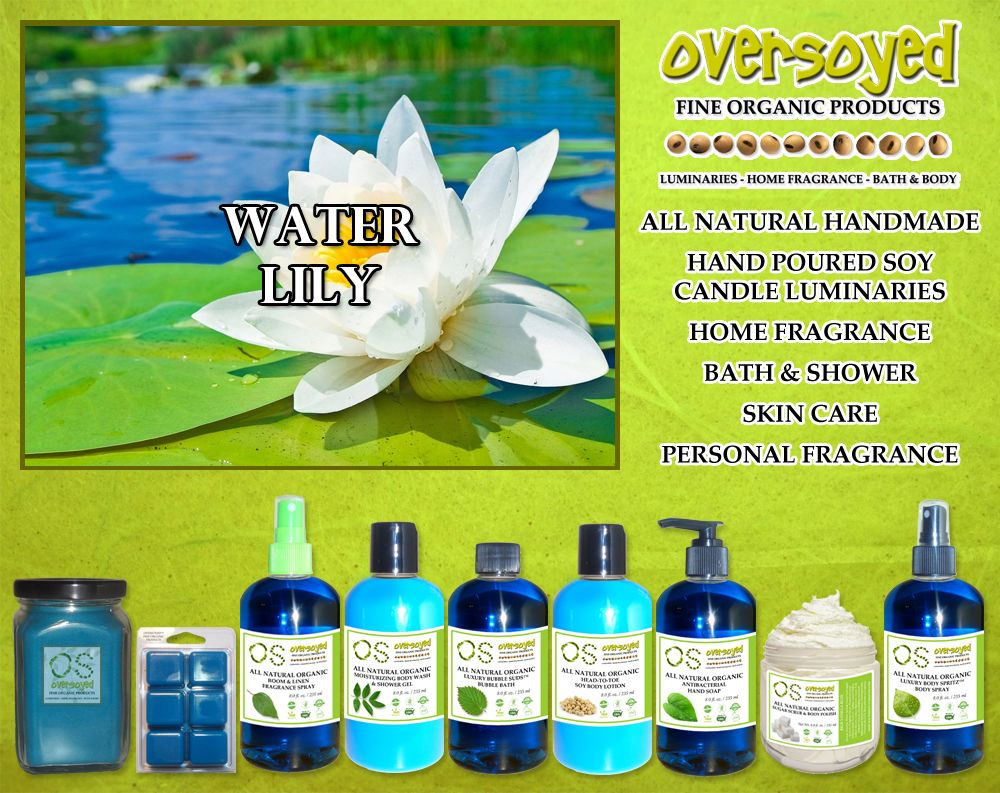 Water Lily (Compare To Bath & Body Works®) Product Collection - A ...