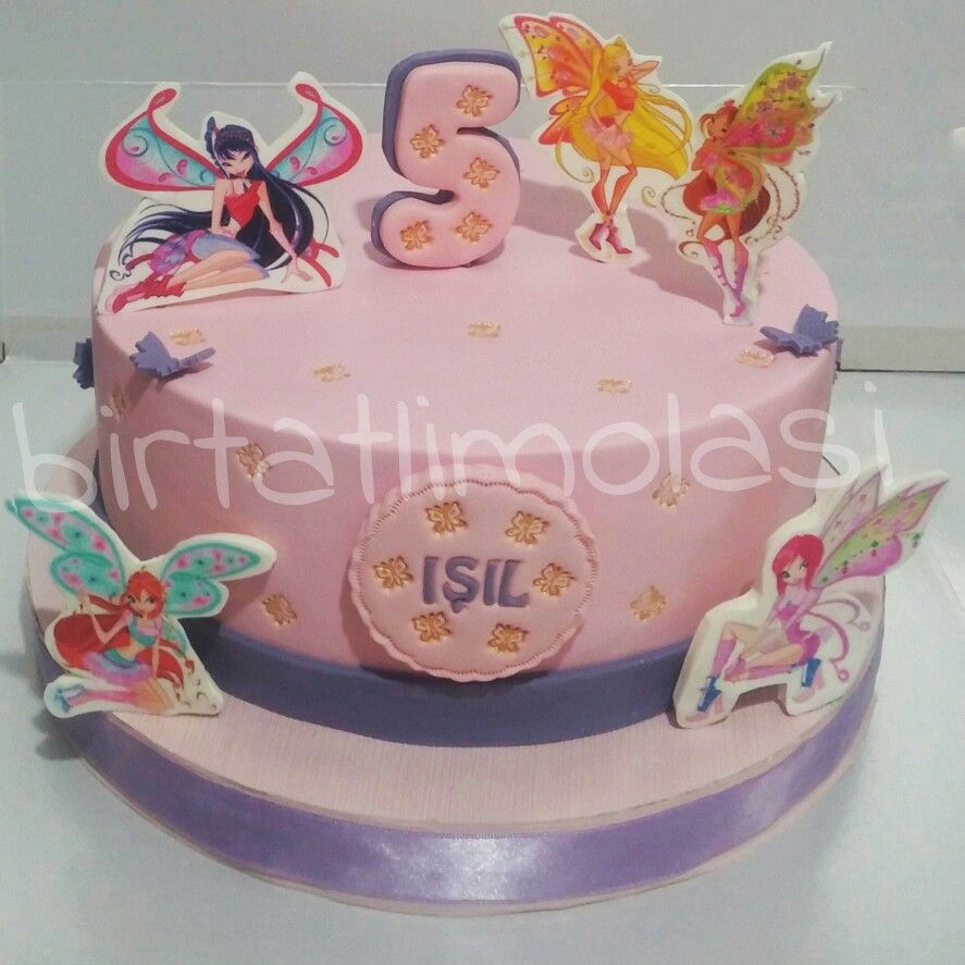 Cake Design Winx : Winx club girls cake Pasta ~ Cake Pinterest Girl ...
