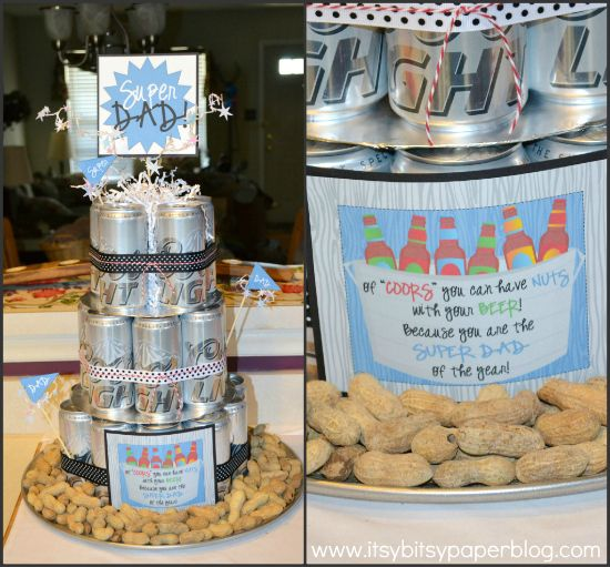 """Itsy Bitsy Paper: . . . Coors Light Beer Can """"Cake"""" . . ."""