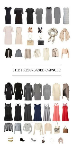 How To Create A Dress Based Capsule Wardrobe And Save Time
