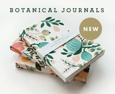 rifle paper co. botanical journals are filling our shop with beautiful whimsy.