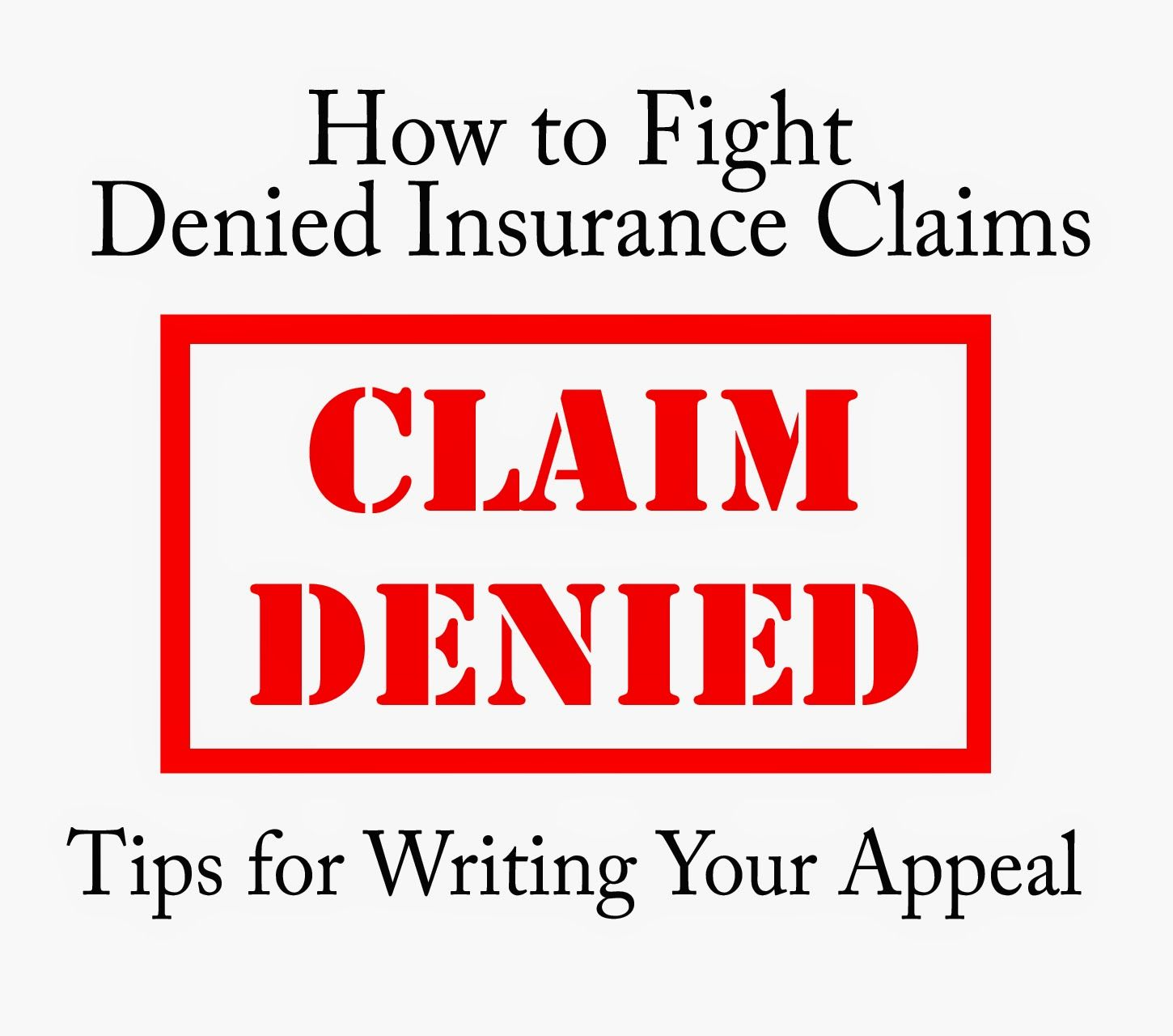 Fighting A Health Insurance Denial  Tips For Writing The Appeal