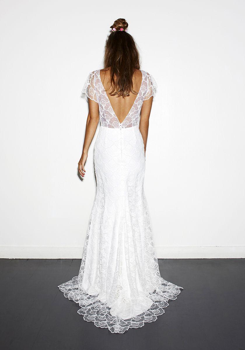 edgy wedding dress by Rime Arodaky   Wedding Dresses & Bridal Style ...