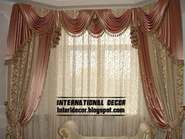 luxury+drapes   contemporary curtain design with satin drapes, latest curtain designs