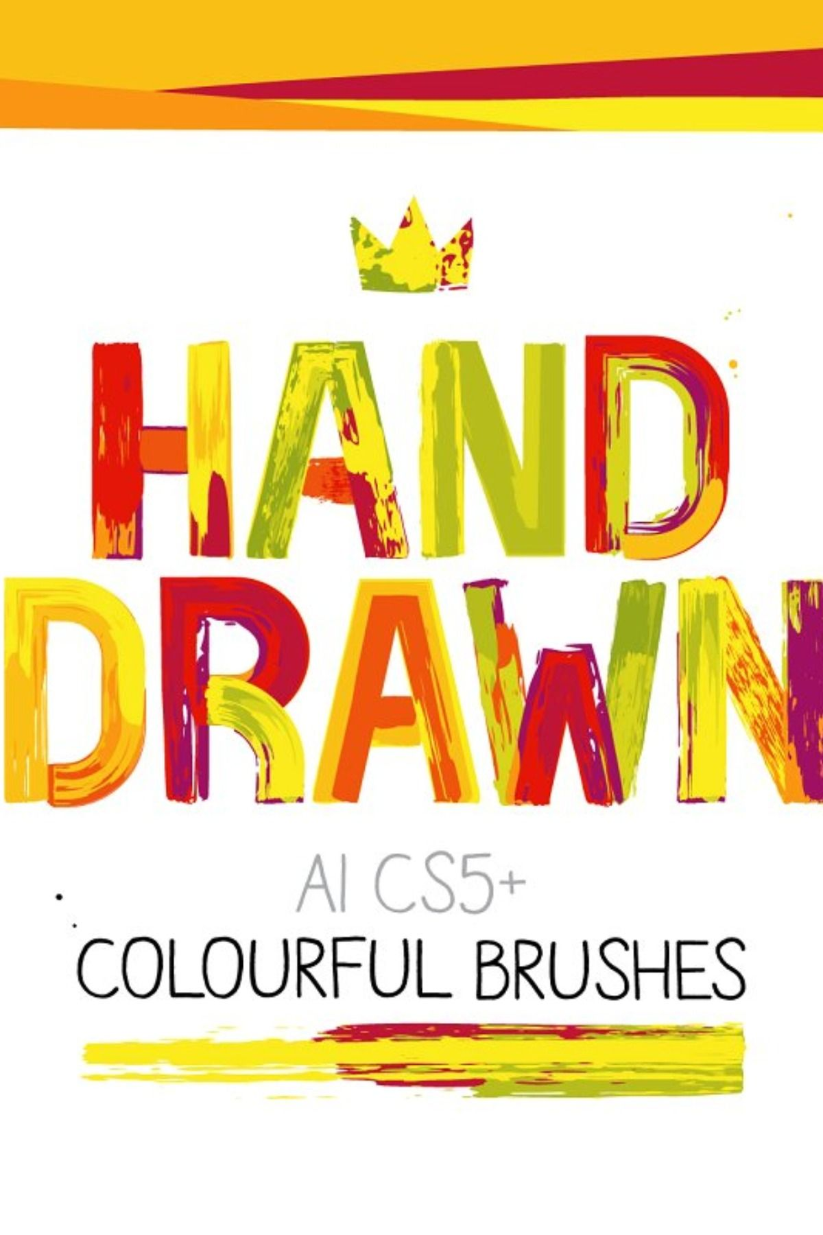 Ai Colourful Paint Brushes