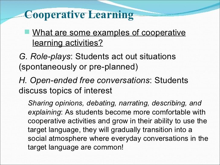 the benefits of cooperative learning for ell students Cooperative learning benefits for english language learners new york and california have the largest population of ell pupils both provinces have believe bilingual instruction is non working every bit good as teaching english as a second language ( tesl ) plans in assisting ell pupils reach high degrees of academic accomplishment ( whitelaw.
