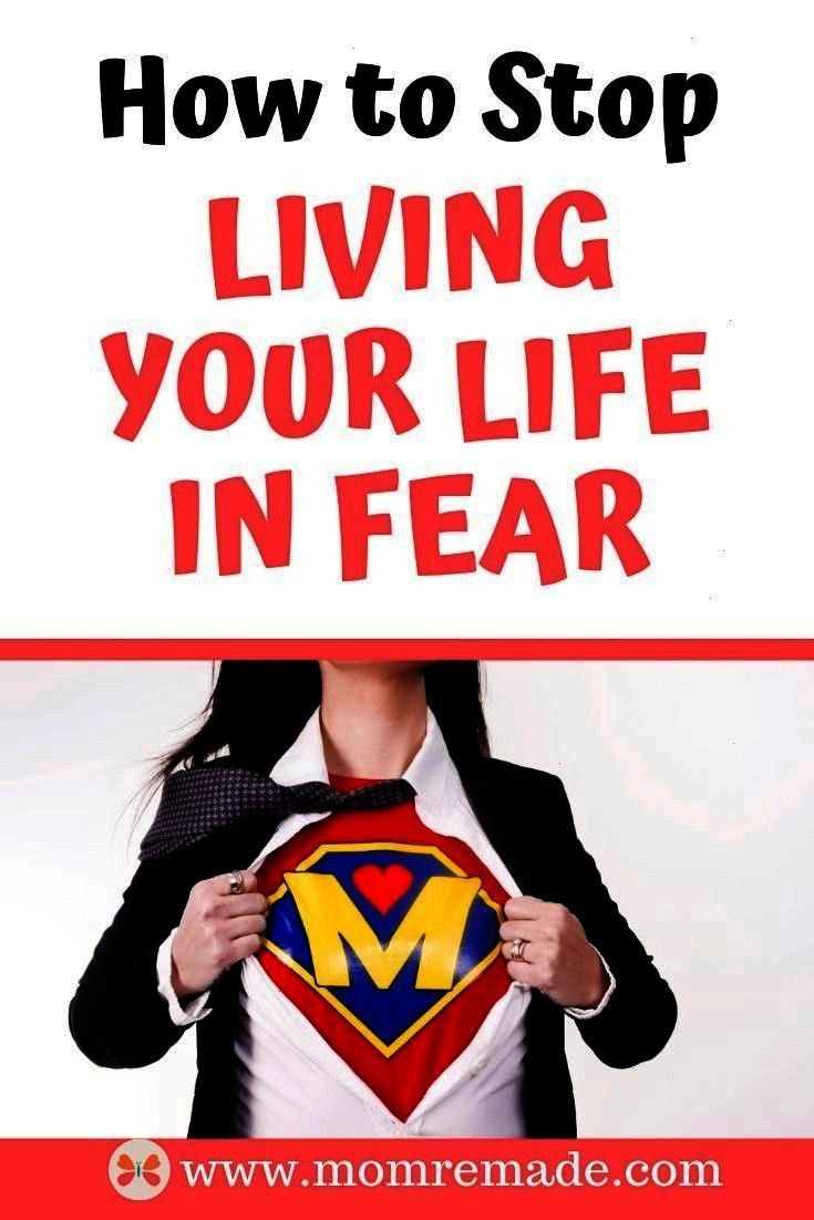 Living You Life in Fear  Mom Remade Are you tired of living in fear There is 5 things you can do to help you have peace and find trust in God Dont live in fear but live i...