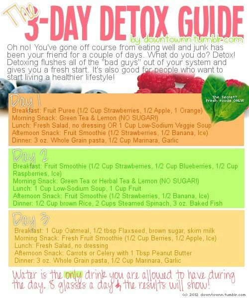 Diy 3 day juice cleanse weight loss