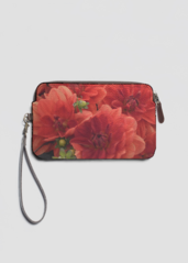 VIDA Statement Clutch - Blues Floral Statement by VIDA 4pBhi9