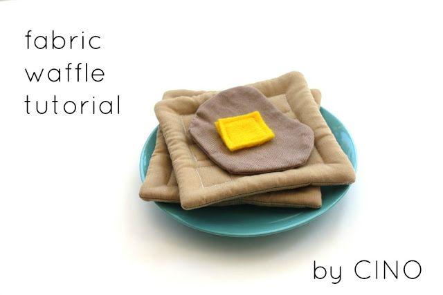 Fabric waffle tutorial