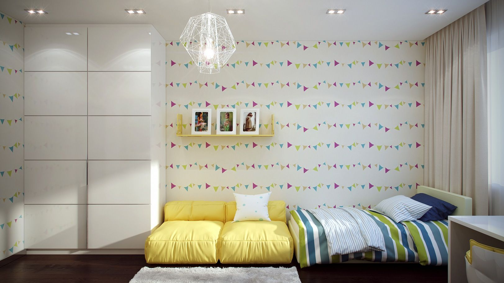 Good Funky Kids Room Design