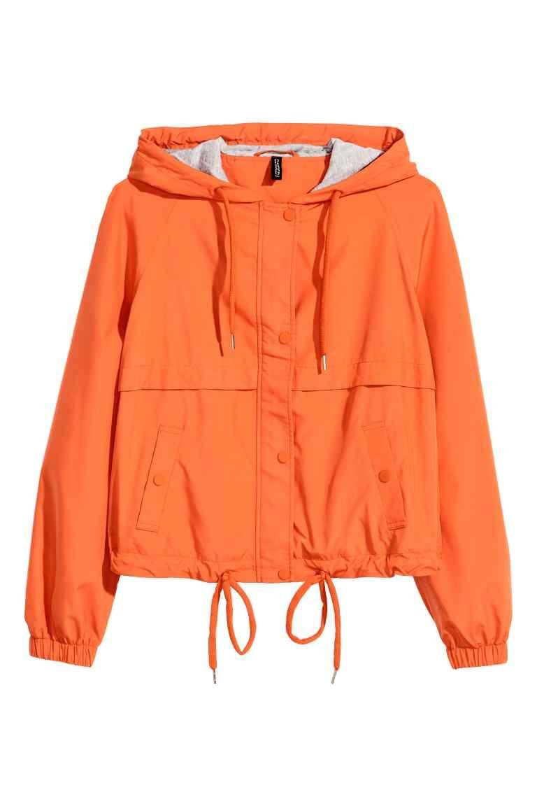 Veste orange femme cache cache