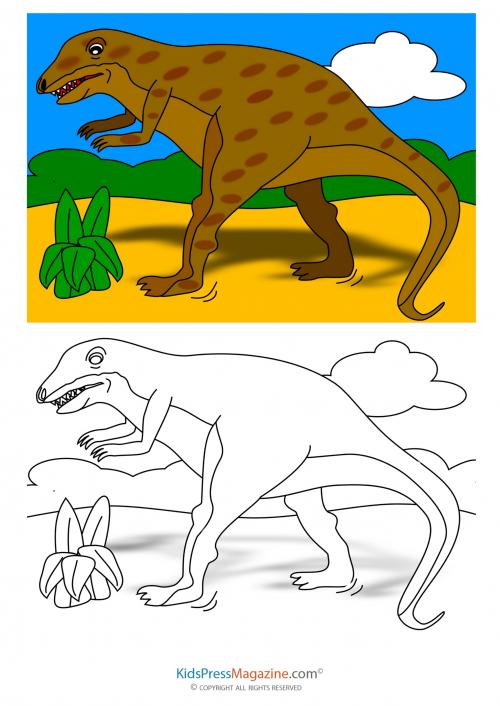 Walking Two Legged Dinosaur Coloring Page Kidspressmagazine Com Dinosaur Coloring Coloring Pages Dinosaur Coloring Pages