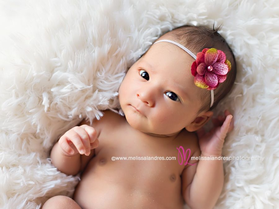 Beautiful 7 Day Old Newborn San Diego Baby Photographer