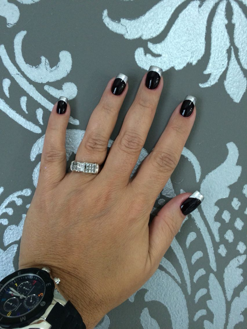 Nails: Marilyn Merlot by perfect match / Happy Anniversary by OPI ...