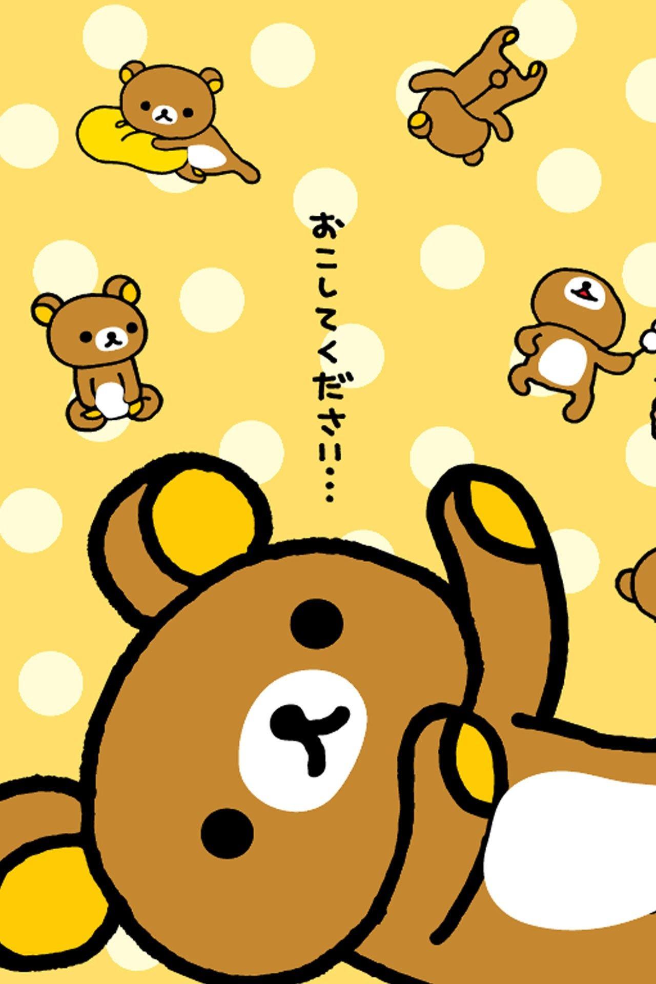 Cool Rilakkuma Wallpaper 1280x1920 For Iphone 6 Rilakkuma Wallpaper Cute Wallpapers Kawaii Wallpaper
