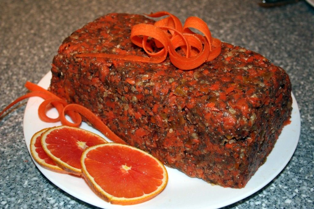 Carrot Cake! (Raw, Vegan, Paleo, GF)