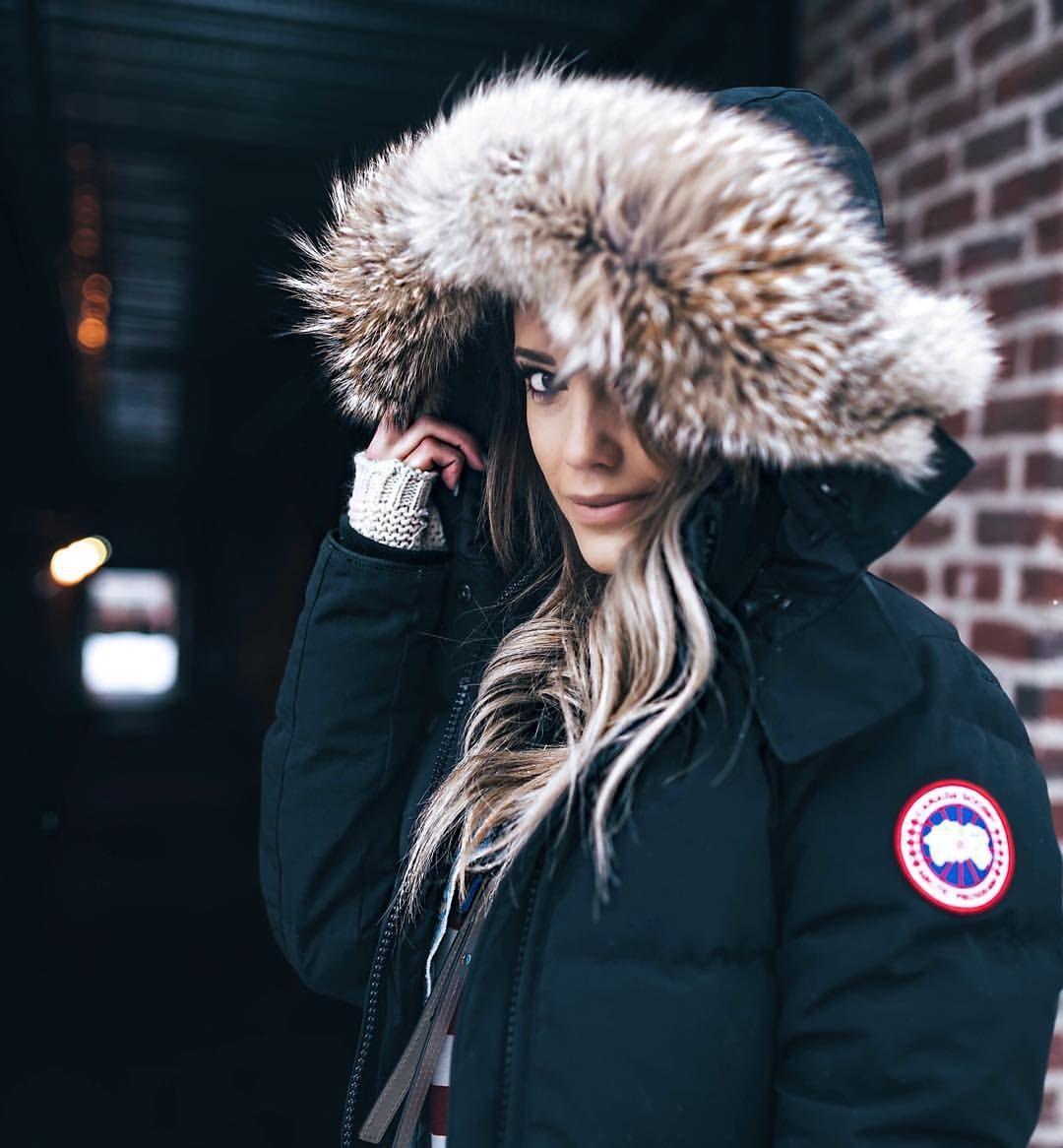 ef44d8a5a goose$99 on | Fashion | Winter fashion, Canada goose parka, Fashion