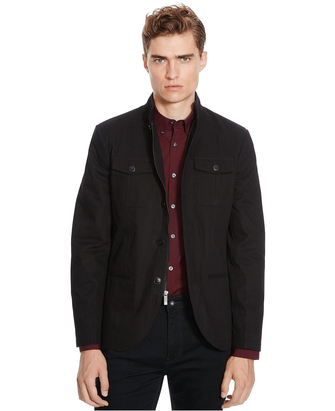 Kenneth Cole Reaction Twill Sport Coat - Reaction Blazer, Macy's ...