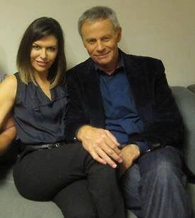 Finola Hughes Tristan Rogers General Hospital Actors Soap Opera Stars