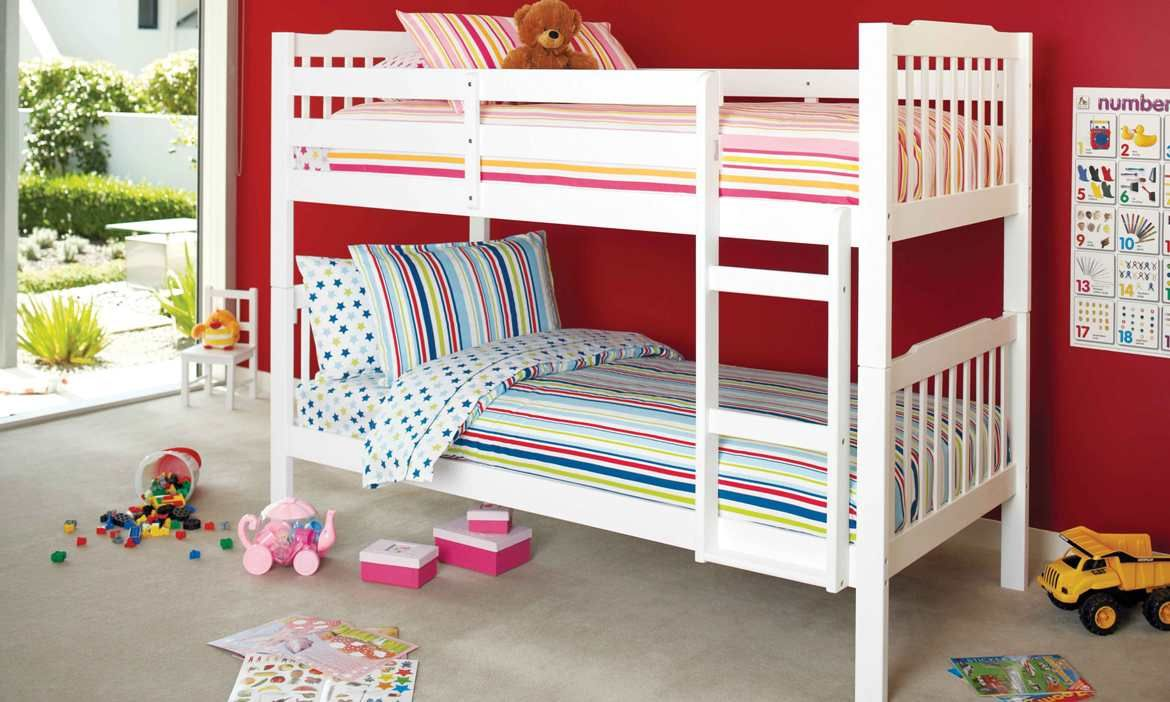Jessica Bunk Bed By Nero Furniture   Harvey Norman