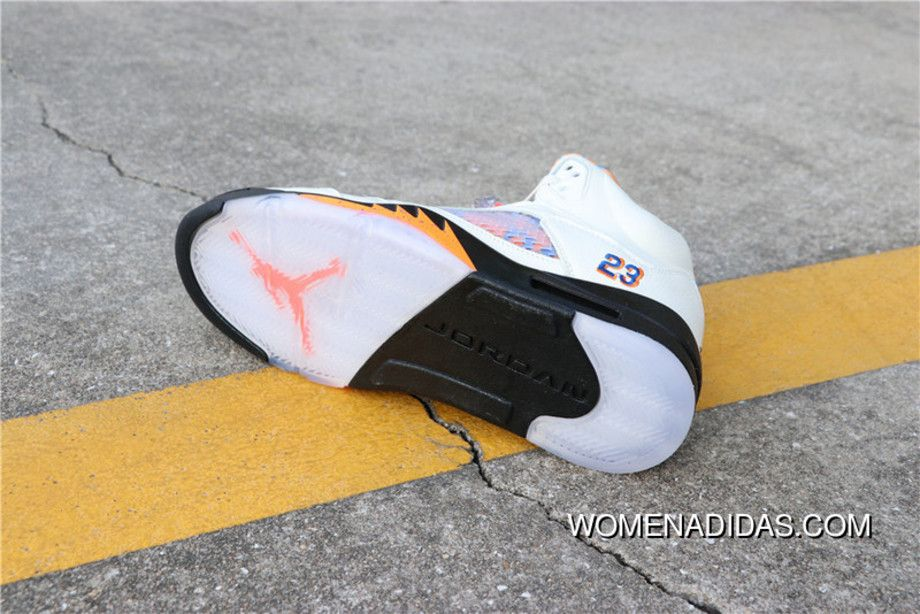 Air Jordan 5 Aj5 AJ5 International Flight 136027-148 Mens Basketball Shoes  Sail Orange Peel-Black-Hyper Royal Best 5a4d51da7