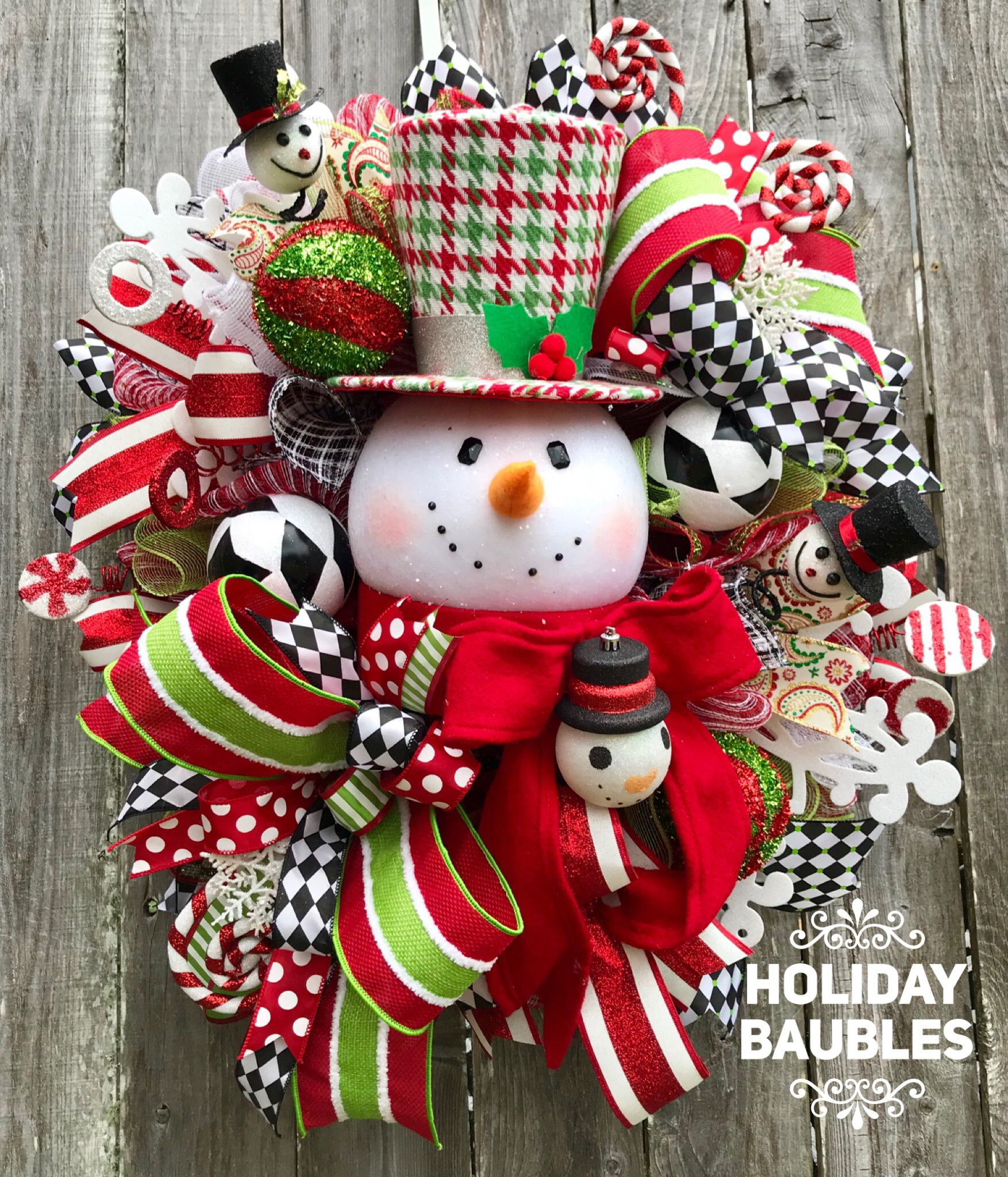 Whimsy Snowman Wreath Christmas Wreaths Holiday Wreaths Christmas Decorations