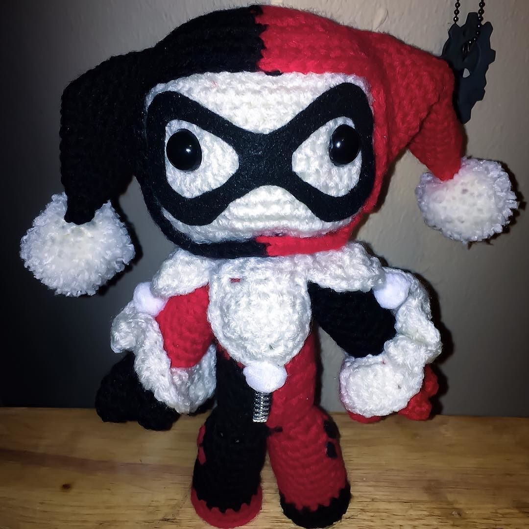 Forgot to post this one. Miss Harley Quinn Sackgirl. #harleyquinn ...