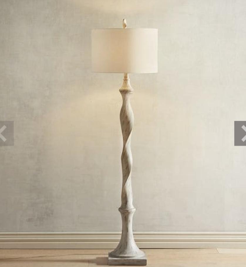 Pier One Weathered Twist Floor Lamp 199 Living Room