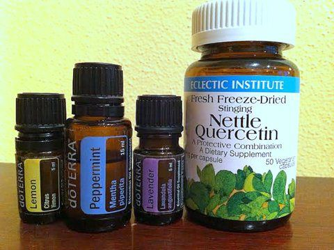 All Natural, Herbal and Essential Oil Pet Allergy Remedy