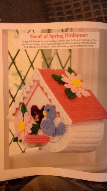 SCENT OF SPRING BIRDHOUSE 1/4