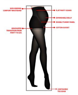 655a15fa6e5e3 A Pea in the Pod Opaque Maternity Tights | Products | Maternity ...