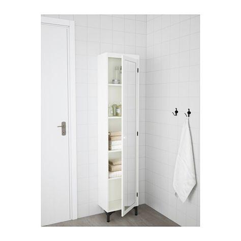 Silverån Korkea Peilikaappi Valkoinen Kylpyhuone