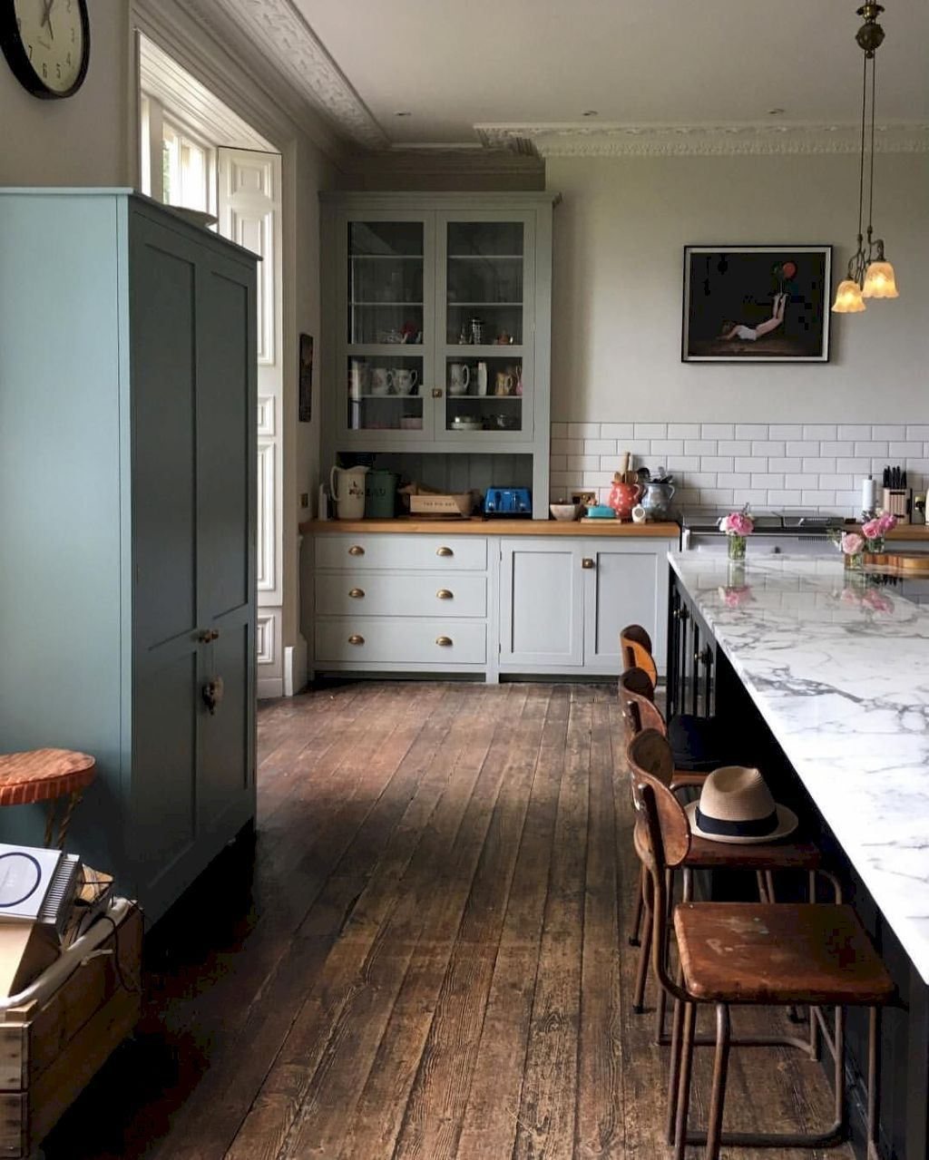 Best Rustic Farmhouse Kitchen Cabinets Ideas Farmhouse kitchen