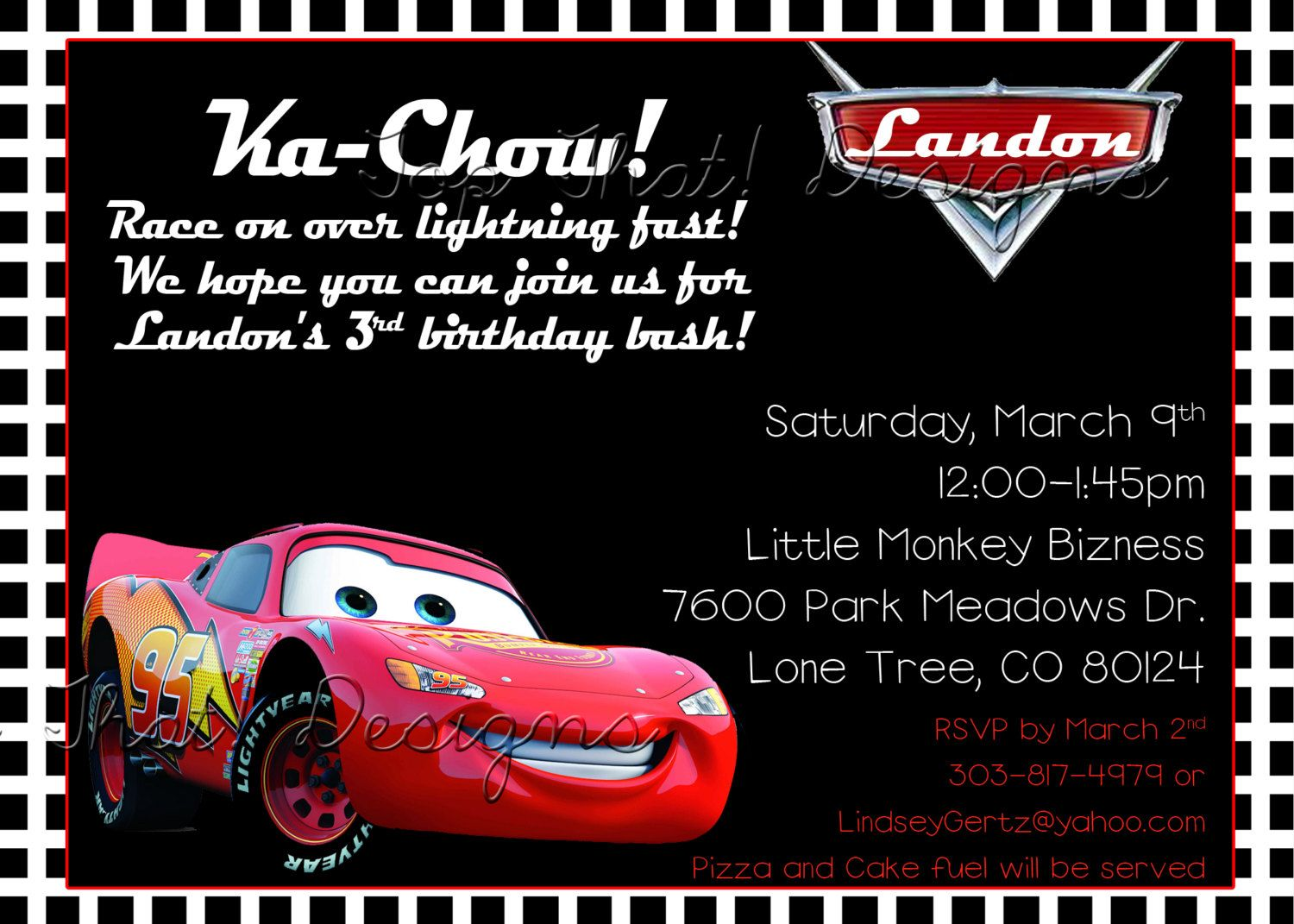Cars Theme Party Invitations Rome Fontanacountryinn Com